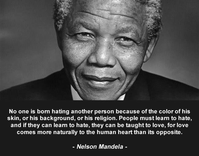 May we all learn from Madiba