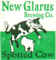 Spotted cow logo