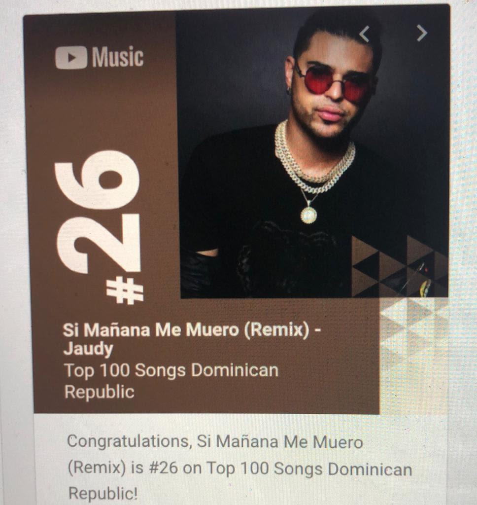 26 Top 100 Song in DR