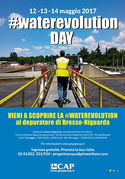 Toccare con mano la #Waterevolution: per 3 giorni apre al pubblico il depuratore di Bresso-Niguarda