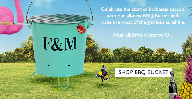Celebrate the start of barbecue season with our all-new BBQ Bucket and make the most of the glorious sunshine. After all: Britain love to 'Q... SHOP BBQ BUCKET
