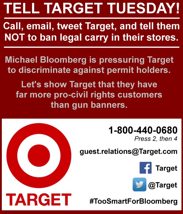 TELL TARGET TUESDAY