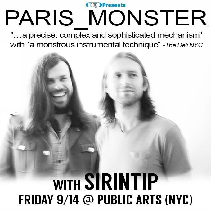paris monster 9.14.18 show