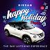 El Nissan JUKE supera la tristeza del invierno con la lista de reproducción The Happy Holiday
