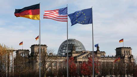 El edificio del Reichstag (alberga al Parlamento alemán) en Berlín.