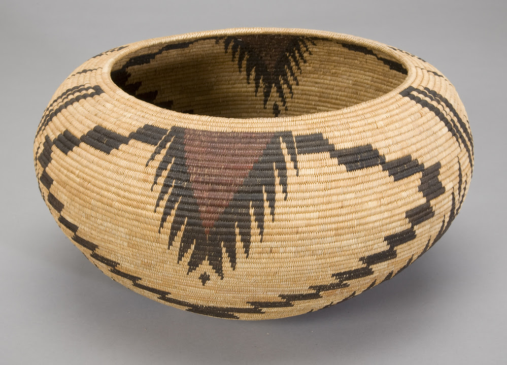 Lucy Telles, Indian Basket, c. 1925,  courtesy of Southwest Museum of the American Indian Collection, Autry National Center, 2011_22_30