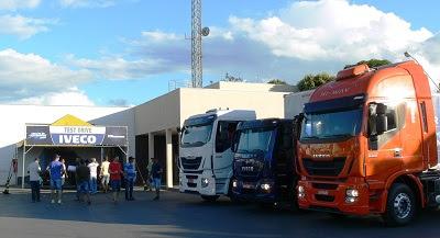 Motoristas e caminhões IVECO prontos para a segunda etapa da Gincana do Caminhoneiro 2018 xxxx gincanajpg