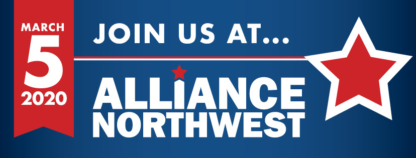 March 5 2020 Join us at.. Alliance Northwest