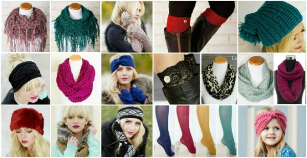 Winter Accessory Blowout - $5.