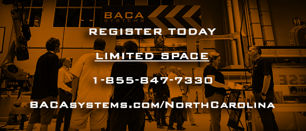 Register Today Limited Space 1-855-847-7330 BACAsystems.com/NorthCarolina