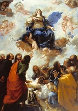 Znalezione obrazy dla zapytania WNIEBOWZIĘCIE NAJŚWIĘTSZEJ MARYI PANNY Uroczystość