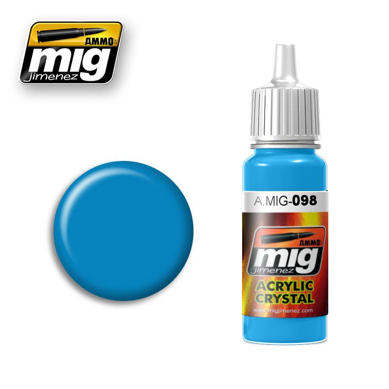 A.MIG-098 CRYSTAL LIGHT BLUE