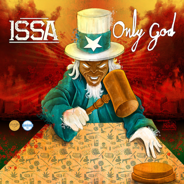 ISSA Only God cover 640