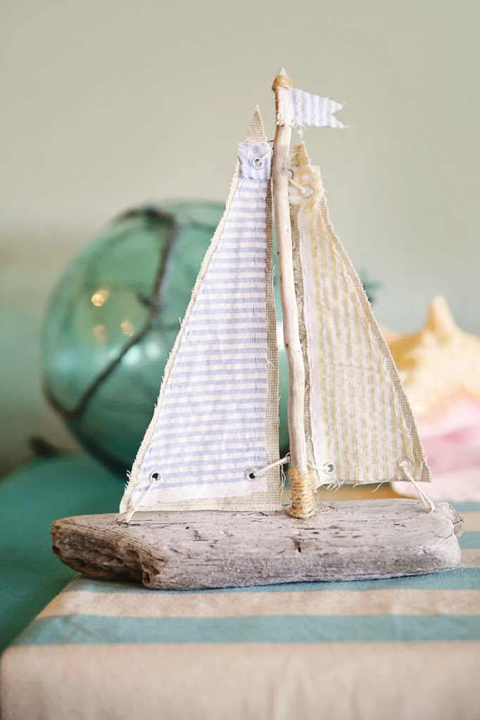 Your Inspired Design Link Party - DIY Sailboat