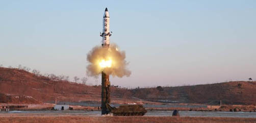 N. Korea Missile Launch - ALLOW IMAGES