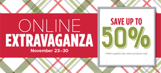Stampin' Up! Online Extravaganza Sale starts Monday, November 23 #dostamping