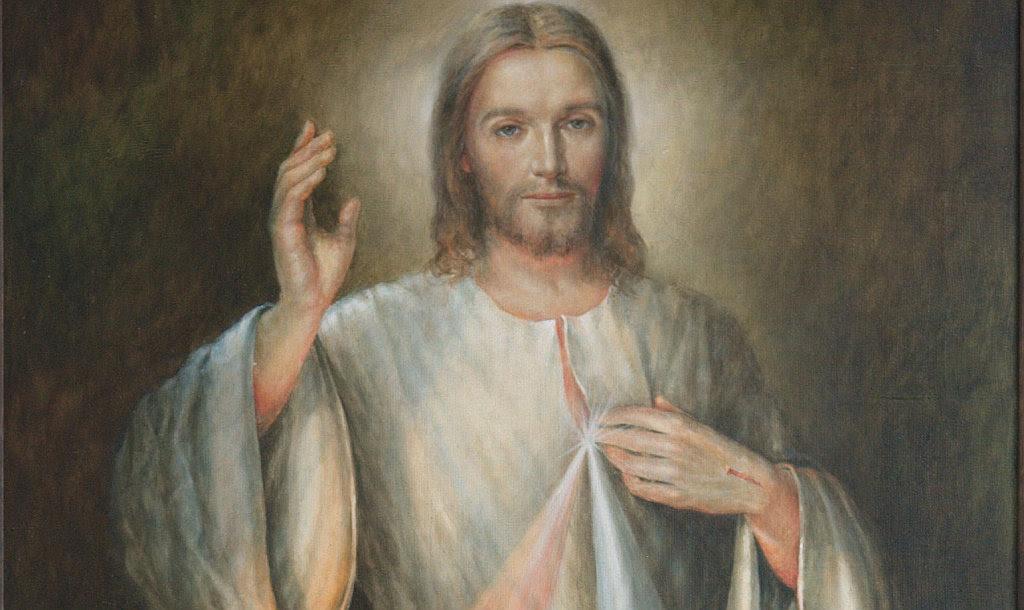 Znalezione obrazy dla zapytania jezus milosierny