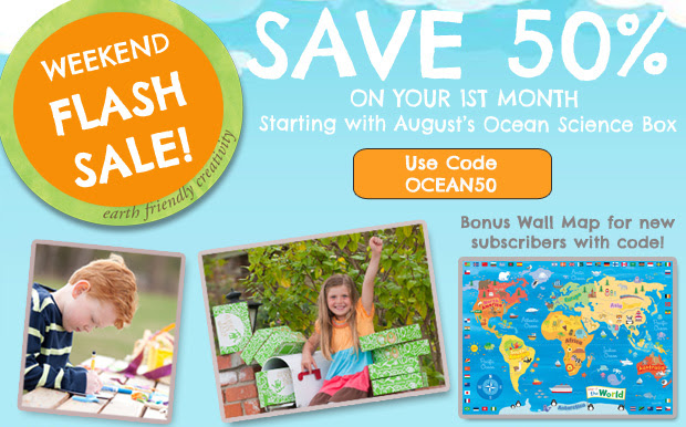 SAVE 50% OFF GREEN KID CRAFTS`...
