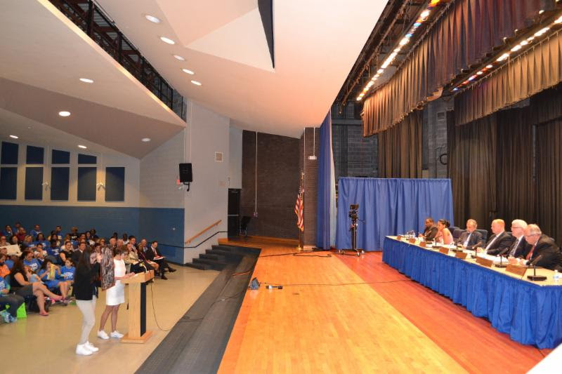 at Saunders High School to hold our first public hearing on the 2015 ...
