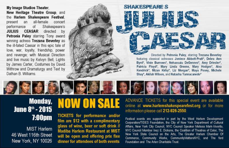 Bold New Voices perform JULIUS CAESAR @ MIST Harlem | New York | New York | United States