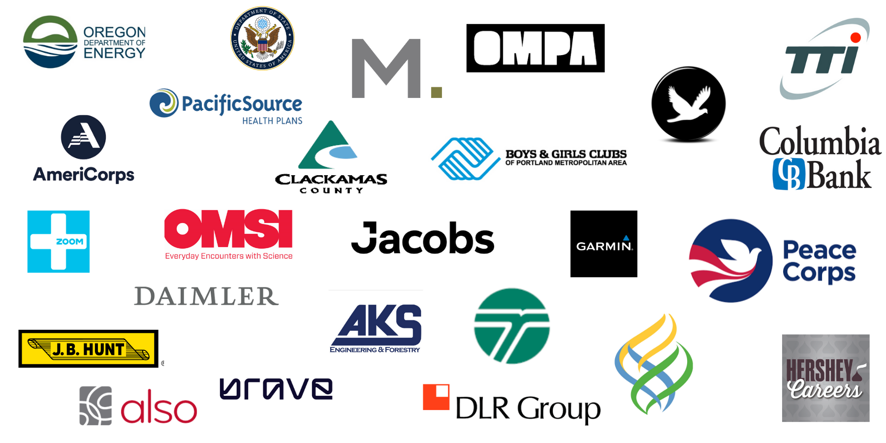 Company Logos - List of companies attending can be found on Fair Handshake pages