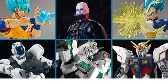 NEW BANDAI JAPAN DRAGON BALL SUPER, GUNDAM, STAR WARS, & MORE