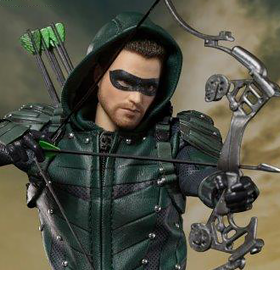 Arrow (TV Series) Real Master Series Green Arrow 1/8 Scale Figure