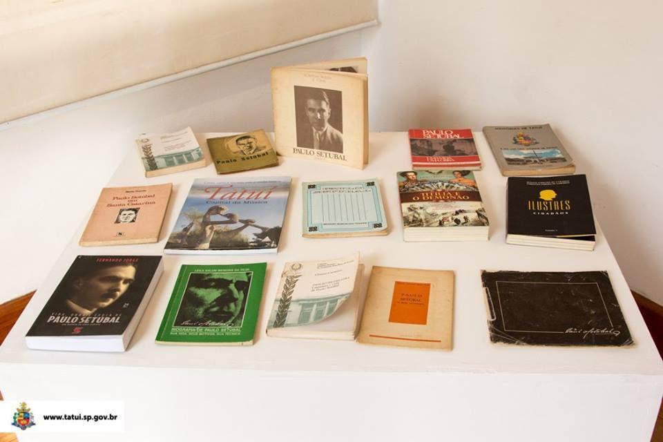Exposição 'Paulo Setúbal- 80 Anos Salvaguardando a Memória do Escritor Tatuianoi ainda em cartaz no Museu de Tatui