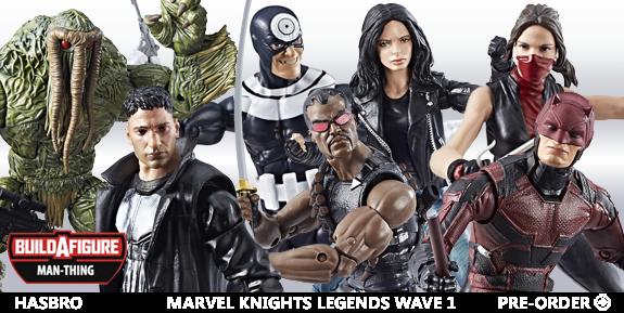 MARVEL KNIGHTS LEGENDS WAVE 1