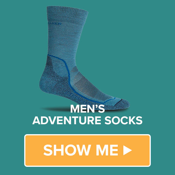 We have a great range of Men's Socks on sale at Bivouac Outdoor in Store and Online
