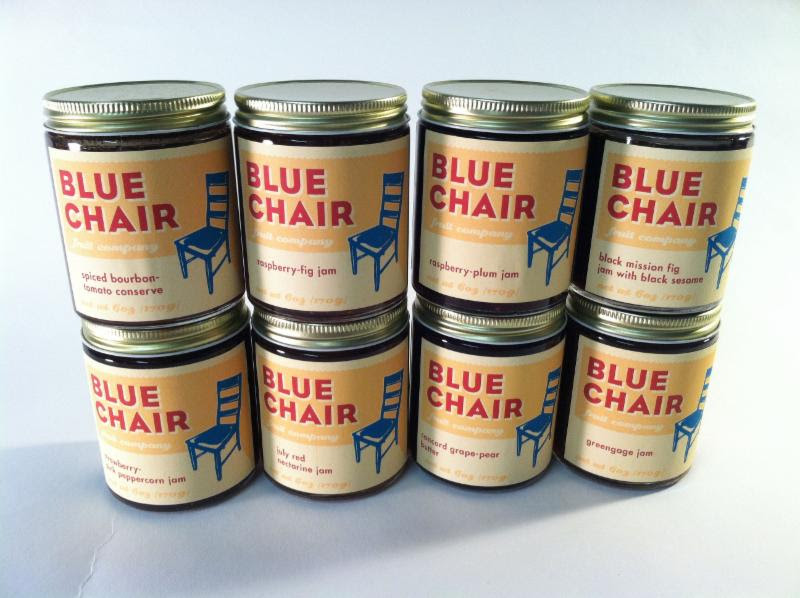 blue chair new flavors