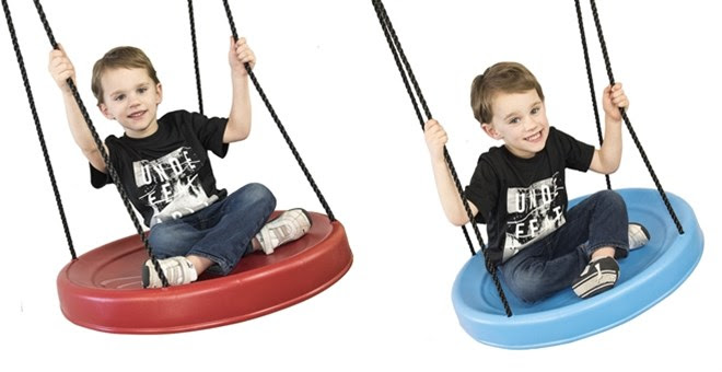 HOT!! Giant Tree Disc Swing!