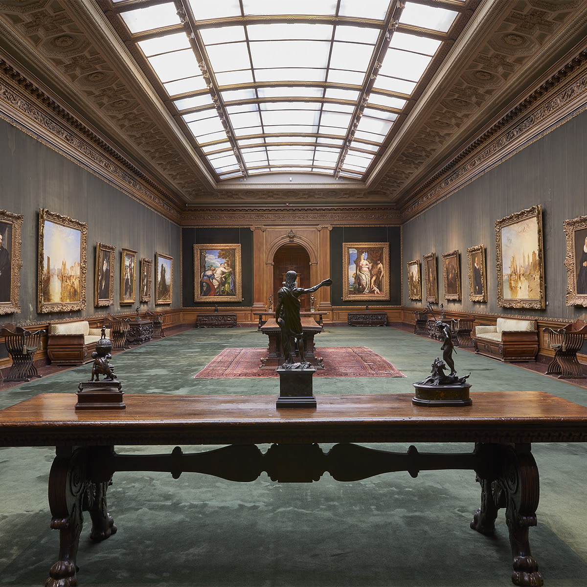 View of the West Gallery, The Frick Collection