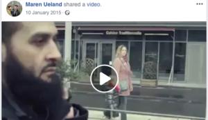 Maren Ueland, beheaded by ISIS jihadis in Morocco, in 2015 posted pro-Muslim migrant video on Facebook