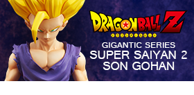 DRAGON BALL Z GIGANTIC SUPER SAIYAN 2 SON GOHAN