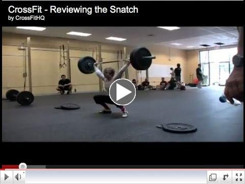 CrossFit - Reviewing the Snatch
