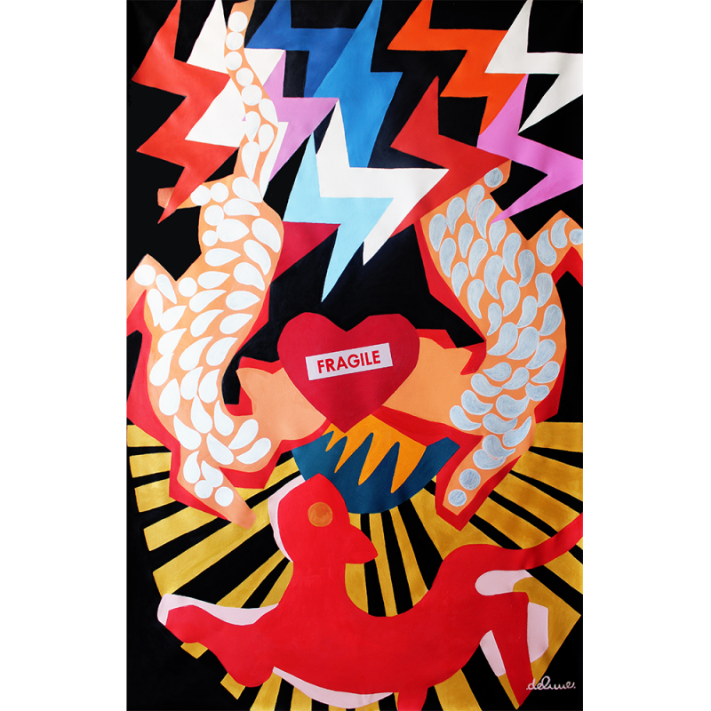 <em>Love Circus by Tiffanie Delune, <br>presented by Ed Cross Fine Art<br><br></em>