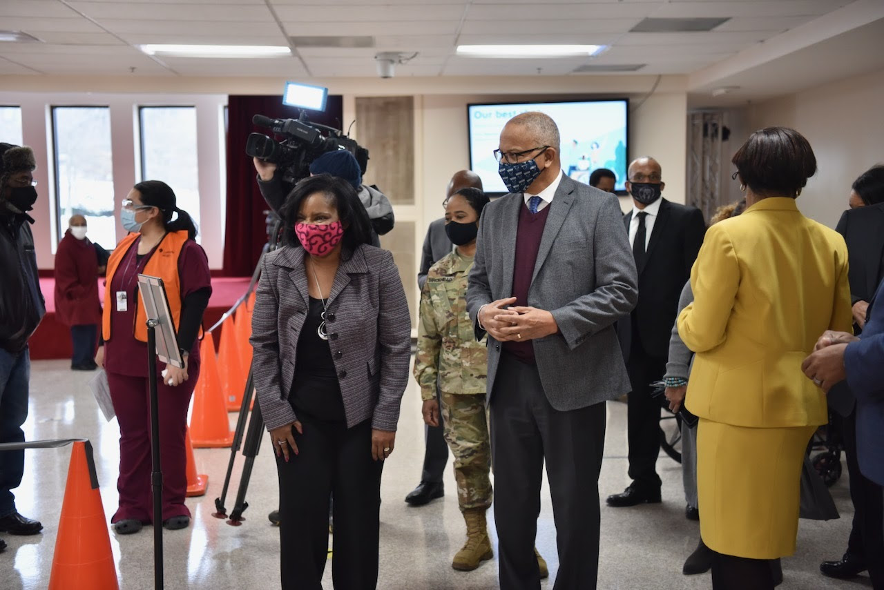 lt. gov. rutherford at AME church