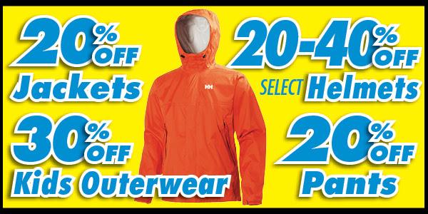 2017 Outerwear Sale!