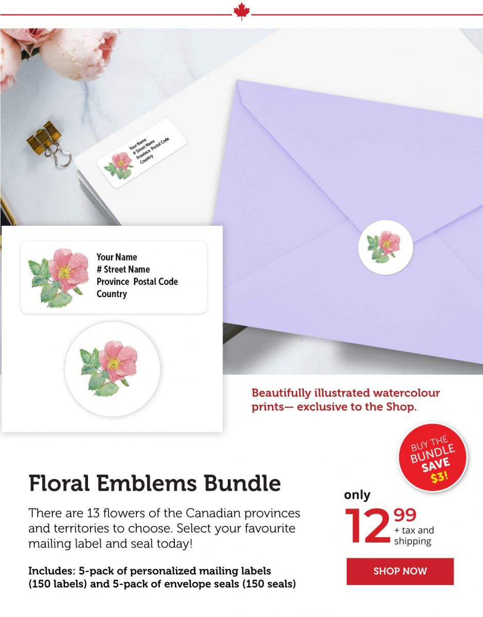 Floral Emblems Bundle
