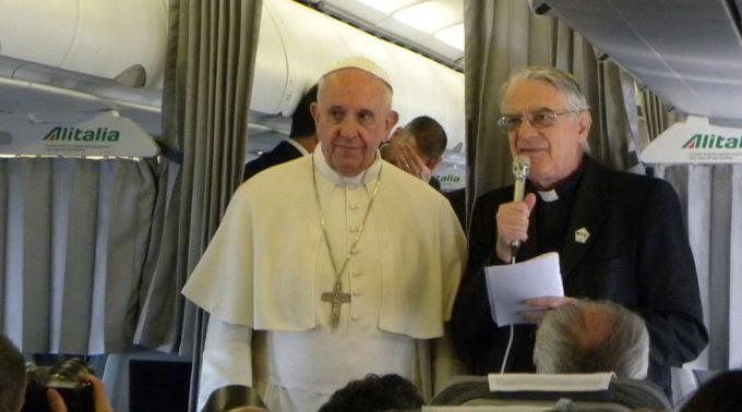 Papa Francisco en Sarajevo (y 8): Entrevista en el avión