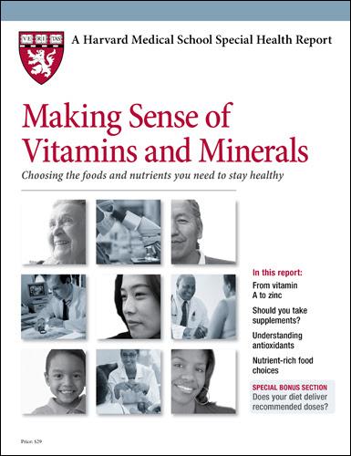 Making Sense of Vitamins and Minerals