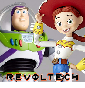 TOY STORY LEGACY OF REVOLTECH BUZZ LIGHTYEAR & JESSIE
