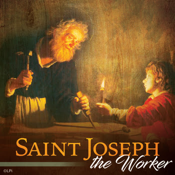 St. Joseph the Worker Feast Day is May 1st - Holy Cross Catholic Church -  Batavia, IL