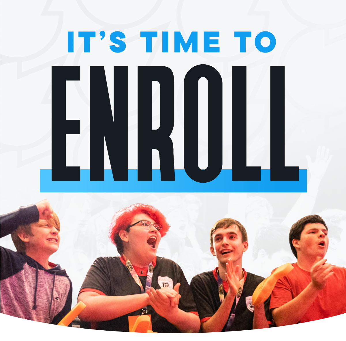 It's Time to Enroll