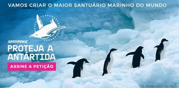 Proteja a Antártida