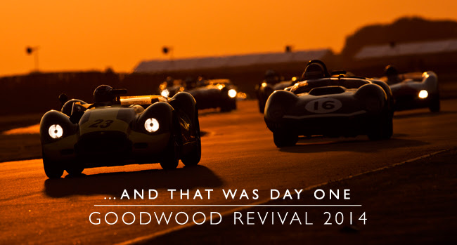 Goodwood Revival: Friday's Highlights