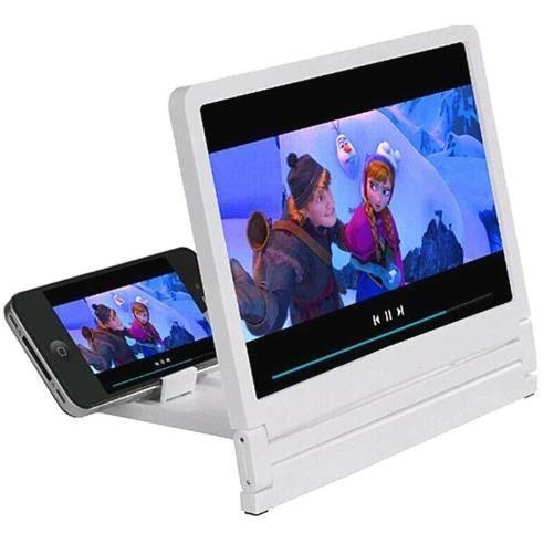 Mobile Phone HD Amplifier Screen (White) Buy one get two!