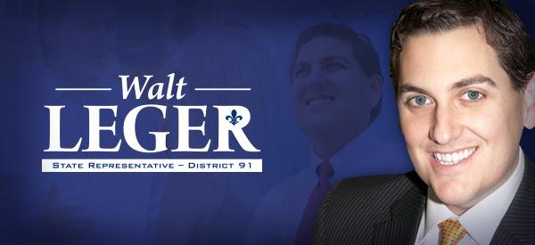 State Representative Walt Leger