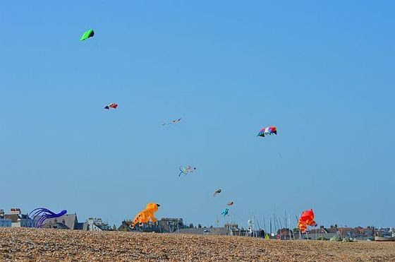 Kites on the Beach event